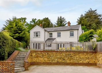Thumbnail 4 bed detached house for sale in Old Frensham Road, Lower Bourne, Farnham, Surrey
