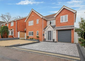 Thumbnail 4 bed detached house for sale in Hedingham Drive, Wickford
