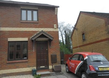Thumbnail 2 bedroom semi-detached house to rent in Ffordd Scott, Birchgrove