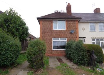 Thumbnail 3 bed end terrace house for sale in Church Lane, Kitts Green, Birmingham