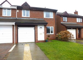 Thumbnail 3 bed semi-detached house for sale in Ashwood Close, Hartlepool
