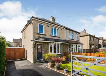 Thumbnail 3 bed semi-detached house for sale in Uplands Grove, Queensbury, Bradford