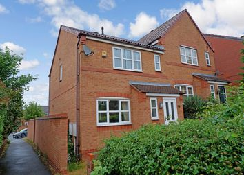 Thumbnail 3 bed semi-detached house for sale in Hedging Lane, Wilnecote, Tamworth
