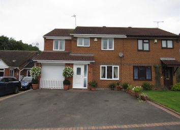 Thumbnail 4 bedroom semi-detached house for sale in Pimpernel Close, Narborough, Leicester