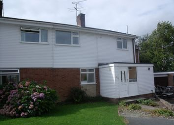 Thumbnail 4 bed semi-detached house to rent in Brook Rise, Pontesbury, Shrewsbury