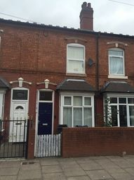 Thumbnail 2 bed terraced house to rent in Chantry Road, Handsworth, Birmingham, West Midlands