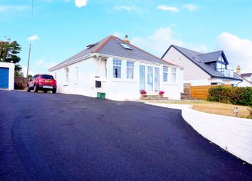 Thumbnail 4 bed detached bungalow for sale in Trevone Road, Trevone