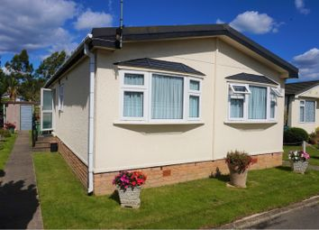 Thumbnail 2 bed mobile/park home for sale in Shenley Park, Ashford
