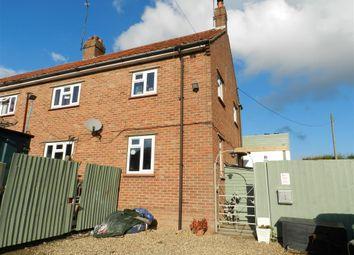 Thumbnail 3 bedroom semi-detached house for sale in Hillside, East Barsham, Fakenham