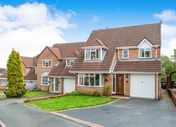 Thumbnail 4 bed detached house for sale in Willotts Hill Road, Waterhayes, Newcastle - Under - Ly, Staffs