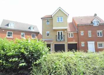 Thumbnail 4 bed town house to rent in Cooke Close, Chafford Hundred, Essex
