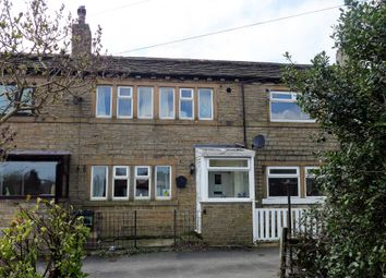 Thumbnail 1 bed terraced house for sale in Leymoor Road, Longwood, West Yorkshire