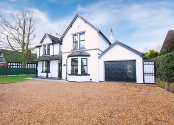 Thumbnail 4 bed detached house for sale in Tunstall Road, Knypersley, Biddulph