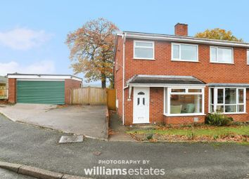 Thumbnail 3 bed semi-detached house for sale in Bro Deg, Ruthin