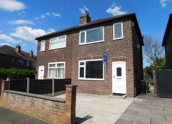 Thumbnail 2 bed semi-detached house for sale in Sandringham Road, Bredbury, Stockport
