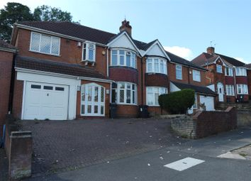 Thumbnail 5 bedroom semi-detached house for sale in Leopold Avenue, Handsworth Wood