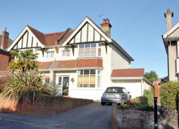 Thumbnail 4 bed semi-detached house for sale in Talbot Hill Road, Winton, Bournemouth