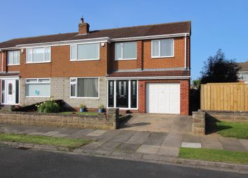 Thumbnail 4 bed semi-detached house for sale in Langton Avenue, Wolviston Court, Billingham
