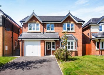 Thumbnail 4 bed detached house for sale in Boardman Close, Leyland