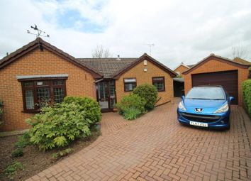 Thumbnail 3 bed detached bungalow for sale in Field Close, Hilton, Derby