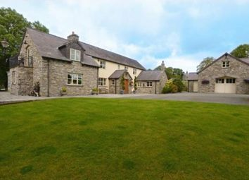 Thumbnail 6 bed detached house for sale in Wern Road, Rhosesmor, Mold, Flintshire