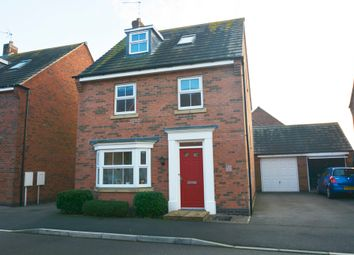 Thumbnail 4 bed detached house for sale in Oaklands Way, Earl Shilton, Leicestershire