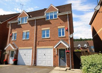 Thumbnail 3 bed semi-detached house for sale in Redwood Court, Mansfield