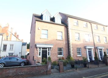 Thumbnail 4 bed town house for sale in Town Walls, Shrewsbury