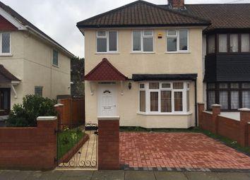 Thumbnail 5 bedroom semi-detached house to rent in Tokyngton Av., Wembley