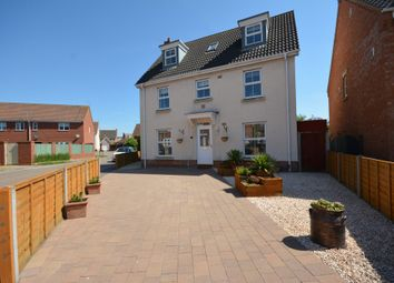 Thumbnail 5 bed detached house for sale in Diprose Drive, Lowestoft