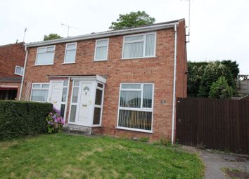 Thumbnail 3 bedroom property to rent in Field Rise, Horninglow, Burton-On-Trent