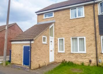 Thumbnail 4 bed end terrace house to rent in Ouse Road, St. Ives, Huntingdon