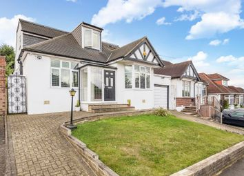Thumbnail 4 bed bungalow to rent in Hillside Road, Northwood