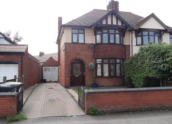 Thumbnail 3 bed semi-detached house to rent in Greenmoor Road, Nuneaton