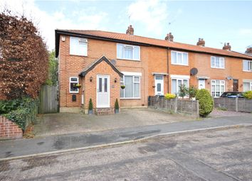 Thumbnail 4 bed end terrace house for sale in Vegal Crescent, Englefield Green, Surrey