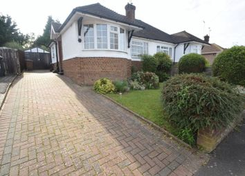 Thumbnail 2 bed semi-detached bungalow to rent in Grasmere Avenue, Luton