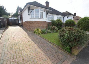 Thumbnail 2 bedroom semi-detached bungalow to rent in Grasmere Avenue, Luton