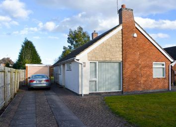 Thumbnail 3 bed bungalow to rent in Coombe Rise, Oadby, Leicester