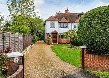 Thumbnail 3 bed semi-detached house for sale in Burwood Road, Hersham, Walton-On-Thames, Surrey