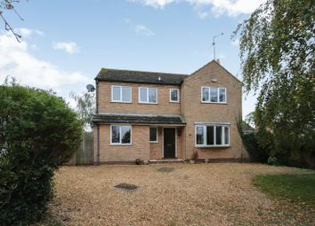 Thumbnail 4 bedroom detached house to rent in Hayes Walk, Elton, Peterborough