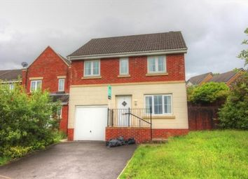 Thumbnail 4 bed detached house to rent in Parc Gellifaelog, Tonypandy