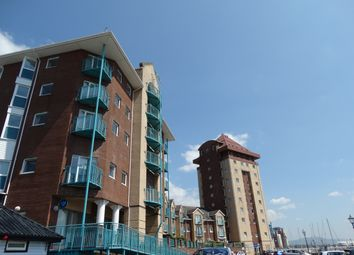 Thumbnail 2 bedroom flat to rent in Pocketts Wharf, Maritime Quarter, Swansea