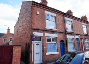 Thumbnail 2 bed end terrace house for sale in Cromer Street, Leicester