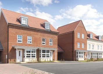 """Thumbnail 4 bedroom terraced house for sale in """"Woodvale"""" at Bolsover Road, Worthing"""