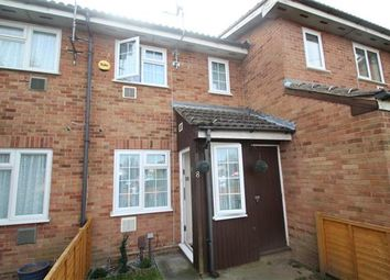 Thumbnail 1 bed terraced house to rent in Shellfield Close, Staines