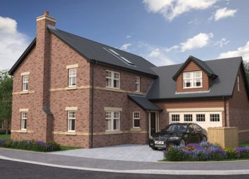 Thumbnail 4 bed detached house for sale in Plot 14, The Hollies, Cheviot Meadows, Acklington, Northumberland