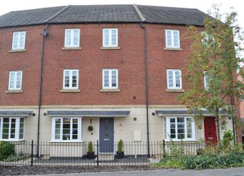 Thumbnail 3 bed town house for sale in Brunel Way, Church Gresley, Swadlincote