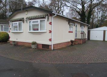 Thumbnail 2 bedroom mobile/park home for sale in Dewlands Park (5480), West Close, Verwood, Dorset, 6Pr