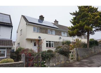 Thumbnail 3 bed semi-detached house for sale in Cross Park, Buckland Monochorum