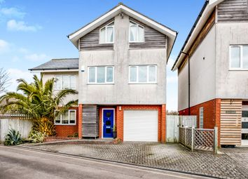 Thumbnail 4 bed detached house for sale in Hollybank, Lee-On-The-Solent
